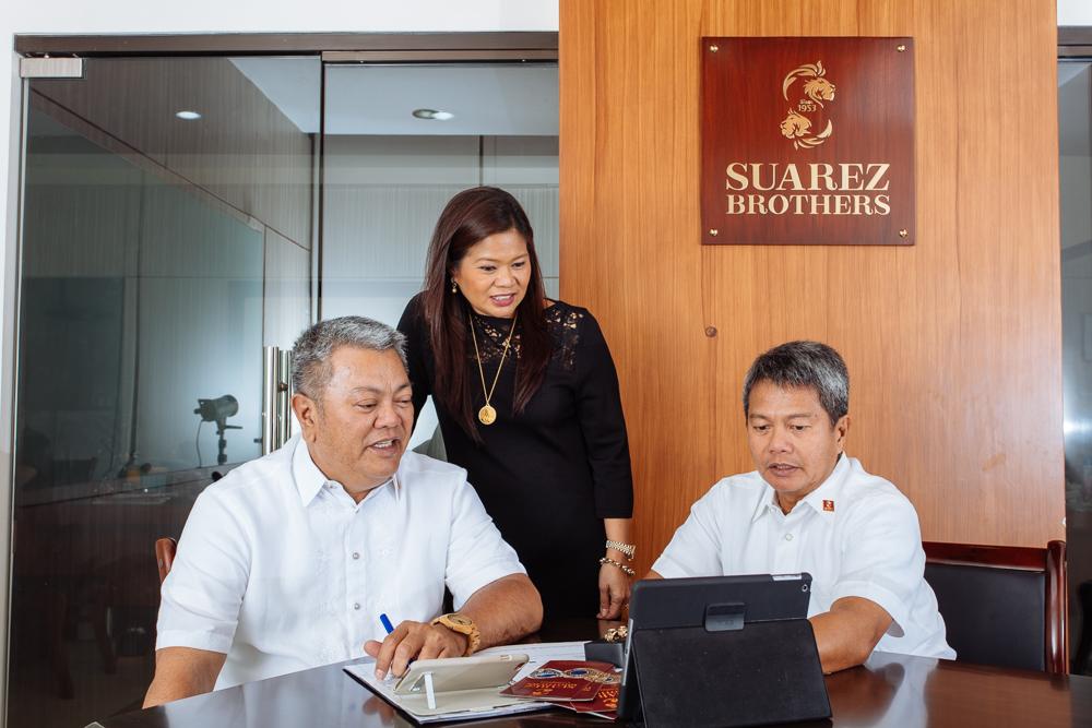 Alan Suarez, Rose Leano (enye) Suarez, Alex Suarez, Management Committee.