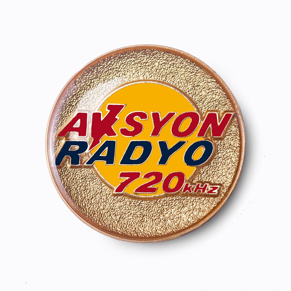 Aksyon Radyo Corporate Pin
